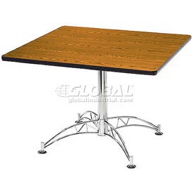 "42"" Lunchroom Table Square Cherry"
