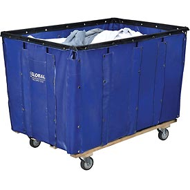 Best Value 20 Bushel Blue Vinyl Basket Bulk Truck