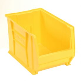 "Akro-Mils Super-Size AkroBin® 30282 - Stacking Bin 12-3/8""W x 20""D x 12""H  Yellow - Pkg Qty 2"