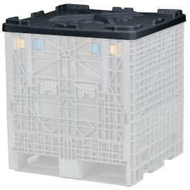 Buckhorn Folding Bulk Container Lid TH4845020010000 - 48x45 Black