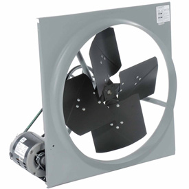 "TPI 24"" Exhaust Fan Belt Drive CE-24B-3 1/3 HP 3270 CFM 3 PH"