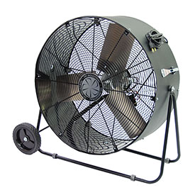 TPI PBS30D,30 Inch Portable Blower Fan Direct Drive Swivel Base 1/4 HP 4400 CFM