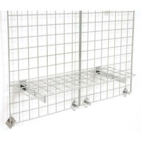 "36""X12"" Wire Shelves With Brackets Package Of 3"
