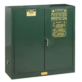 Pesticide Cabinet Manual Double Door 30 Gallon