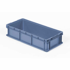 ORBIS Stakpak SO3215-7 Plastic Long Stacking Container 32 x 15 x 7-1/2 Blue