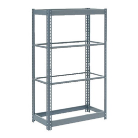 "Heavy Duty Shelving 36""W x 18""D x 72""H With 4 Shelves, No Deck"