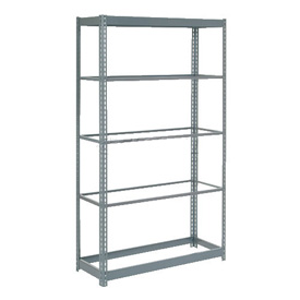 "Heavy Duty Shelving 36""W x 12""D x 72""H With 5 Shelves, No Deck"