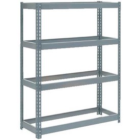 "Extra Heavy Duty Shelving 48""W x 12""D x 72""H With 4 Shelves, No Deck"