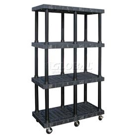 SPC Dura-Shelf® Truck MDS4824X4 4 Shelves 900 Lb. Cap.