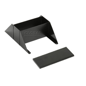 Steel Literature Rack Base & Top Black