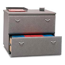 Lateral File in Pewter - Modular Office Furniture
