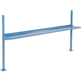 "96""W Upright Kit with 12""D Shelf. 48""H - Blue"