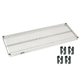 Nexel® Chrome Wire Shelf 36 x 24 with Clips