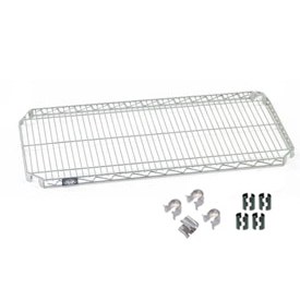 Quick Adjust Shelf 60x24 With 4 Hooks And Clips