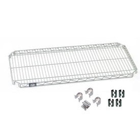 Nexel® Quick Adjust Shelf 60x24 with Clips & 4 Hooks