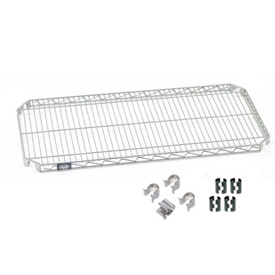 Nexel® E-Z Adjust Shelf 36x18 with Clips & 4 Hooks