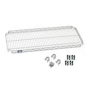 Nexel® E-Z Adjust Shelf 48x18 with Clips & 4 Hooks