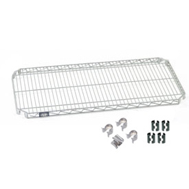 Nexel® E-Z Adjust Shelf 48x24 with Clips & 4 Hooks