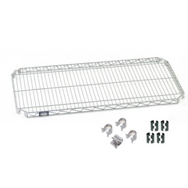 Nexel® E-Z Adjust Shelf 72x18 with Clips & 4 Hooks