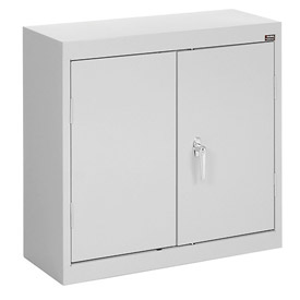 Sandusky Wall Cabinet WA21301230 Double Door - 30x12x30, Light Gray