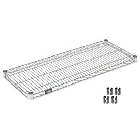 Chrome Wire Shelf 60x14 With Clips