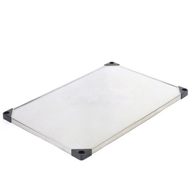 Stainless Steel Solid Shelf 24 x 36 With Clips