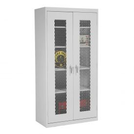 Sandusky Expanded Metal Front Storage Cabinet CA4M362472 -36x24x72, Gray