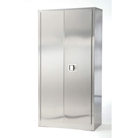 Stainless Steel Storage Cabinet 48 x 18 x 84
