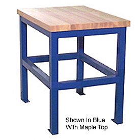 24 X 36 X 30 Standard Shop Stand - Maple - Blue