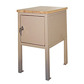 24 X 36 X 30 Cabinet Shop Stand - Maple - Blue
