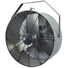 TPI MB24DY,24 Inch Portable Mini Blower Fan Direct Drive Yoke Mount 1/4 HP 3000 CFM
