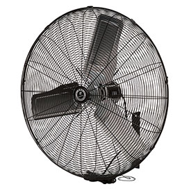 TPI CACU24W,24 Inch Wall Mount Fan Non Oscillating 1/4 HP 3400 CFM 1 PH