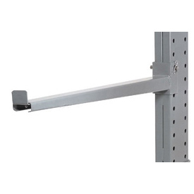 "Cantilever Rack Straight Arm With 2"" Lip 60 ""L,  2000 Lbs Capacity"