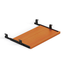 Offices To Go™ Keyboard Tray in Medium Cherry - Executive Modular Furniture