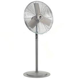 TPI 653388,30 Inch Pedestal Fan 1/3 HP 5400 CFM 1 PH 227V Totally Enclosed Motor