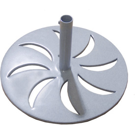 Leisure Craft Outdoor Umbrella Base - Gray