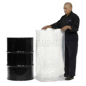 Protective Lining Corp. RB38408 55 Gallon Drum Liner 8 Mil 38 x 40 - Pkg Qty 50
