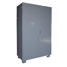 "Global™ Heavy Duty Storage Cabinet DS260 - Welded 14 ga. 60""W x 24""D x 78""H"