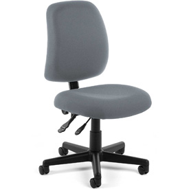 OFM Multifunctional Task Chair - Fabric - Mid Back -Gray