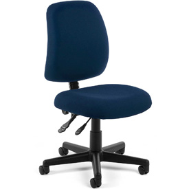OFM Multifunctional Task Chair - Fabric - Mid Back -Blue