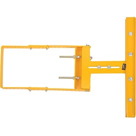 "Spring-Loaded Safety Gate 16""-26""W Opening Yellow"