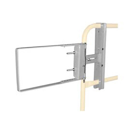 "Spring-Loaded Safety Gate 16""- 26""W Opening Galvanized"
