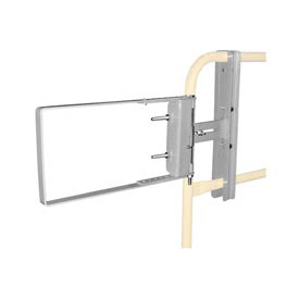 "Spring-Loaded Safety Gate 24""- 40""W Opening Galvanized"