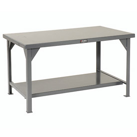 Strong Hold 60 X 36 Steel Top Fixed Leg Work Table