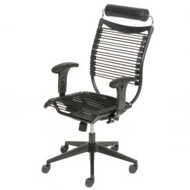 Body Form Chair with Adjustable Armrests and Headrest