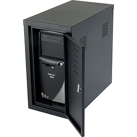 Computer Cabinet Side Car-Black