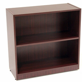 Regency 30 Inch Bookcase in Mahogany - Manager Series