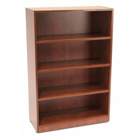 Regency 48 Inch Bookcase in Cherry - Manager Series