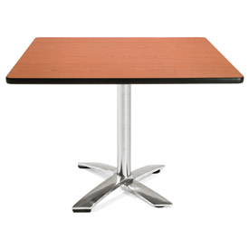 "OFM 42"" Square Flip-Top Multi-Purpose Table, Cherry"