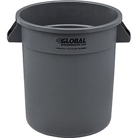Global™ Trash Container, Garbage Can - 10 Gallon
